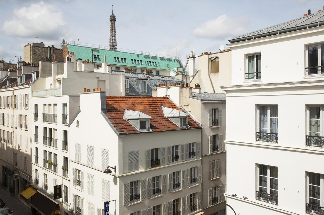 Hotel du Champ de Mars - Vue de l'hôtel - Tour Eiffel